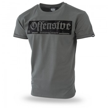 T-shirt An Unstoppable Offensive Pride M / Czarny