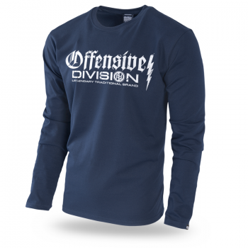 Longsleeve Offensive Division M / Biały