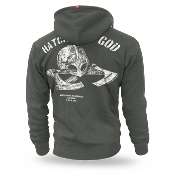 Bluza z kapturem Hatchet of God 3XL / Czarny