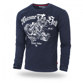 Longsleeve DR Welcome to Hell M / Czarny