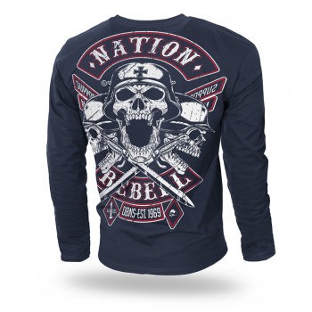 Longsleeve Nation Rebell M / Czarny