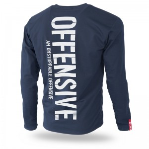 Longsleeve An Unstoppable Offensive Infinite  M / Granatowy
