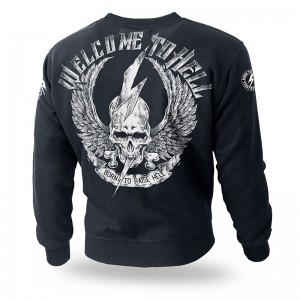 Bluza classic Welcome To Hell II M / Czarny