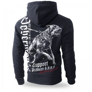 Bluza z kapturem Dobermans Support