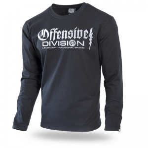 Longsleeve Offensive Division M / Czarny
