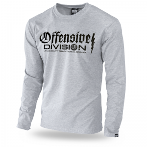 Longsleeve Offensive Division M / Szary