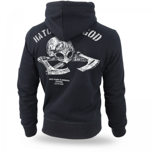 Bluza z kapturem Hatchet of God L / Czarny