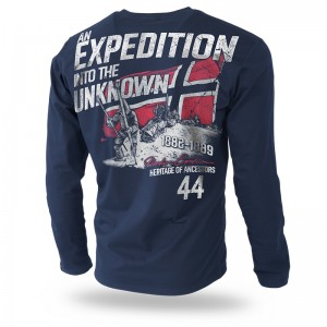 Longsleeve Unknown Expedition XL / Granatowy