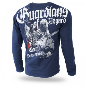 Longsleeve Guardians of Asgard XL / Granatowy