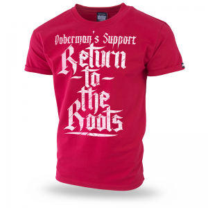 Koszulka Return to the Roots 3XL / Czerwony