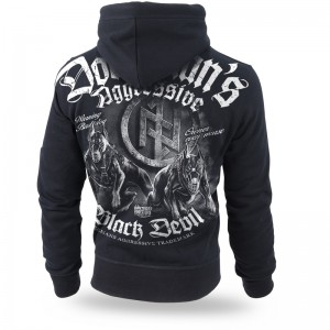 Bluza z kapturem Black Devil II