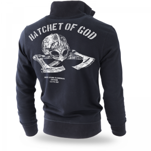 Bluza classic z zamkiem Hatchet of God