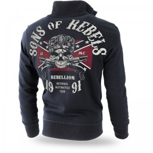 Bluza classic z zamkiem Sons of Rebels